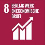 SDG 8 Eerlijk werk en economische groei